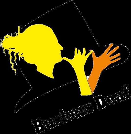Logo buskers Deaf