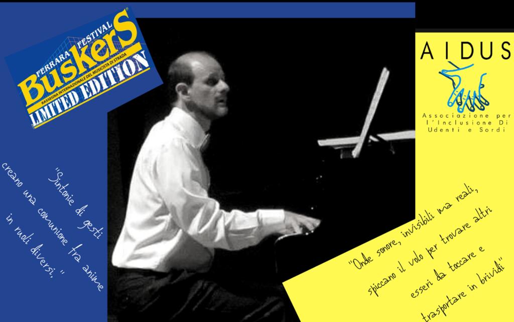 Daniele gambini pianista sordo buskers deaf 2020